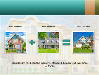 Grand House PowerPoint Templates - Slide 22