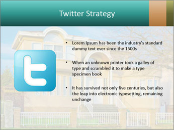 Grand House PowerPoint Template - Slide 9