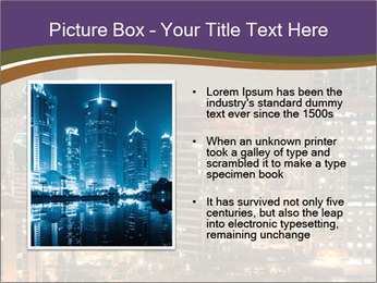 Scenic Night City PowerPoint Templates - Slide 13