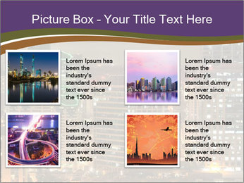 Scenic Night City PowerPoint Templates - Slide 14