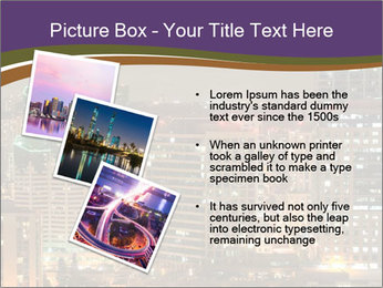Scenic Night City PowerPoint Templates - Slide 17