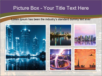 Scenic Night City PowerPoint Templates - Slide 19