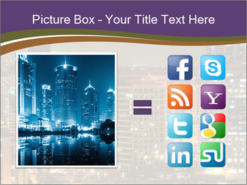 Scenic Night City PowerPoint Templates - Slide 21