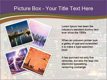 Scenic Night City PowerPoint Templates - Slide 23