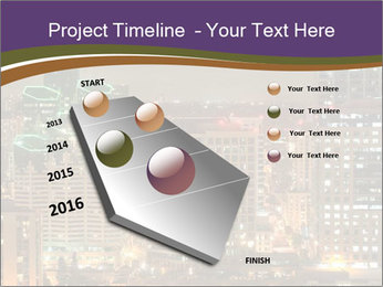 Scenic Night City PowerPoint Templates - Slide 26