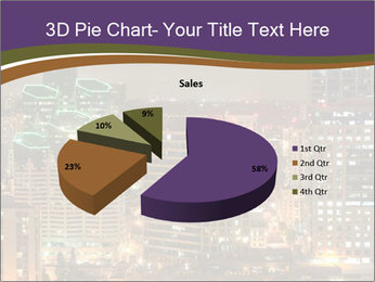 Scenic Night City PowerPoint Templates - Slide 35