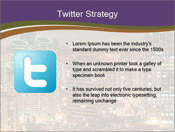 Scenic Night City PowerPoint Templates - Slide 9