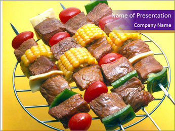 Barbecue PowerPoint Templates - Slide 1
