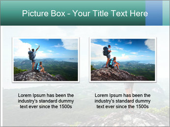 Freedom on top of the mountain PowerPoint Template - Slide 18