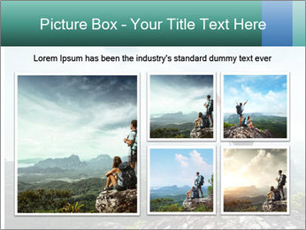 Freedom on top of the mountain PowerPoint Template - Slide 19