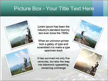 Freedom on top of the mountain PowerPoint Template - Slide 24