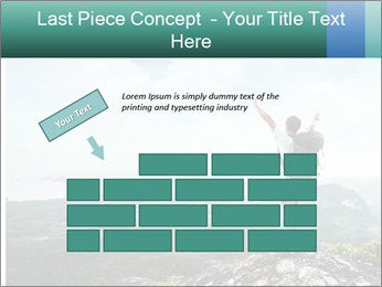 Freedom on top of the mountain PowerPoint Template - Slide 46