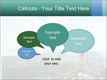 Freedom on top of the mountain PowerPoint Template - Slide 73