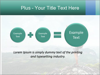 Freedom on top of the mountain PowerPoint Template - Slide 75
