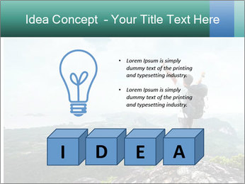 Freedom on top of the mountain PowerPoint Template - Slide 80