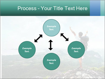 Freedom on top of the mountain PowerPoint Template - Slide 91