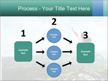 Freedom on top of the mountain PowerPoint Template - Slide 92