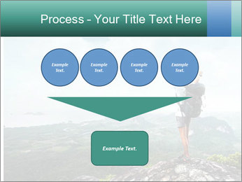 Freedom on top of the mountain PowerPoint Template - Slide 93