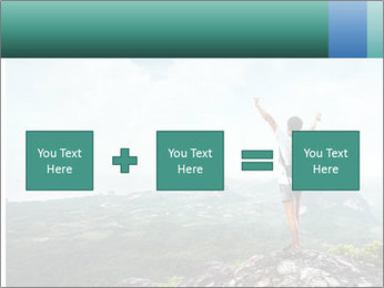 Freedom on top of the mountain PowerPoint Template - Slide 95