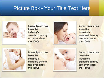 Mom and Baby PowerPoint Template - Slide 14