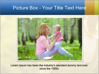 Mom and Baby PowerPoint Template - Slide 16