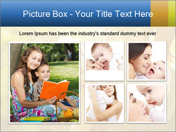 Mom and Baby PowerPoint Template - Slide 19