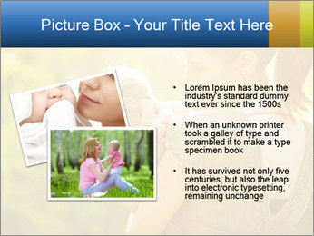 Mom and Baby PowerPoint Template - Slide 20