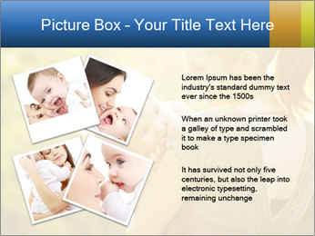 Mom and Baby PowerPoint Template - Slide 23