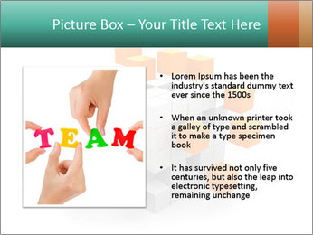 Disassembled box PowerPoint Template - Slide 13