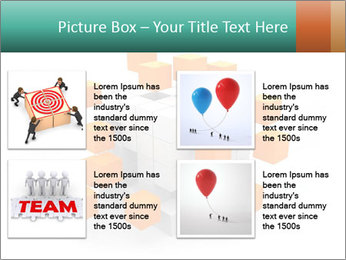 Disassembled box PowerPoint Template - Slide 14