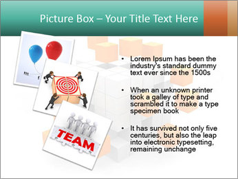Disassembled box PowerPoint Template - Slide 17