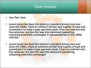 Disassembled box PowerPoint Template - Slide 2