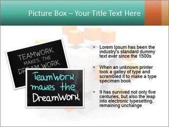 Disassembled box PowerPoint Template - Slide 20