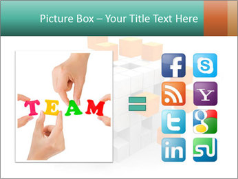 Disassembled box PowerPoint Template - Slide 21