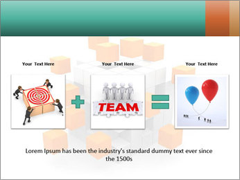Disassembled box PowerPoint Template - Slide 22