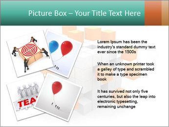 Disassembled box PowerPoint Template - Slide 23