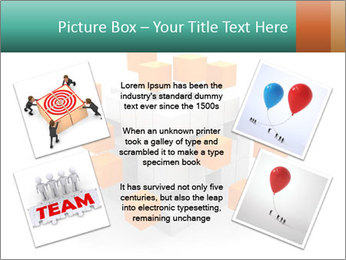 Disassembled box PowerPoint Template - Slide 24