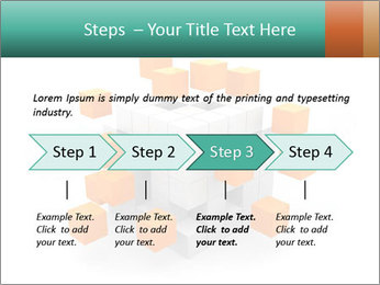 Disassembled box PowerPoint Template - Slide 4