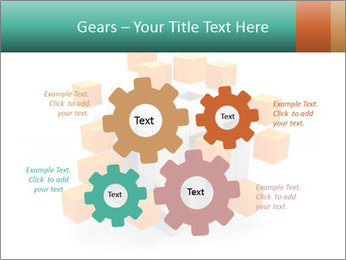 Disassembled box PowerPoint Template - Slide 47
