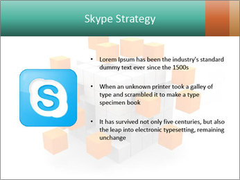 Disassembled box PowerPoint Template - Slide 8