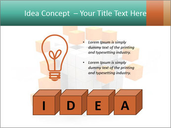 Disassembled box PowerPoint Templates - Slide 80
