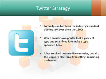 Disassembled box PowerPoint Template - Slide 9