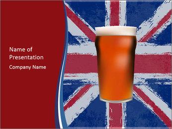 Beer PowerPoint Template - Slide 1