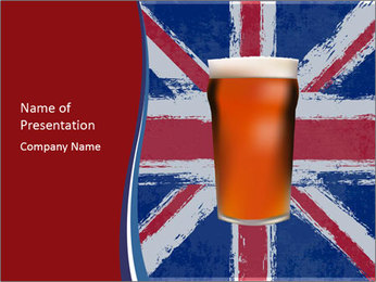 Beer PowerPoint Templates - Slide 1