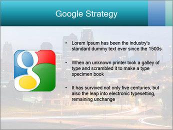 Evening city PowerPoint Template - Slide 10