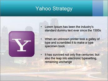 Evening city PowerPoint Template - Slide 11