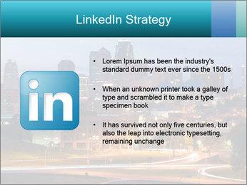 Evening city PowerPoint Template - Slide 12