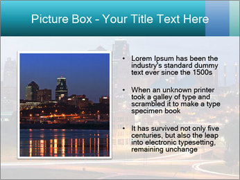 Evening city PowerPoint Templates - Slide 13