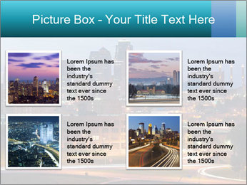 Evening city PowerPoint Templates - Slide 14