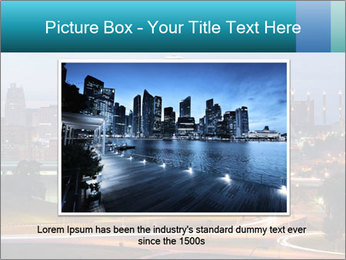 Evening city PowerPoint Templates - Slide 15